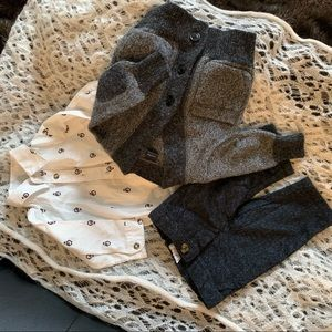 NB baby boy bundle outfit